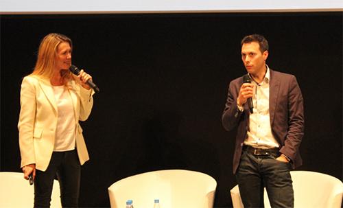 Angelique Berge et Pascal Mayeux
