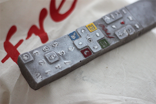 Telecommande Revolution en chocolat !