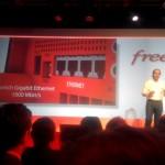 Arrière Freebox Server