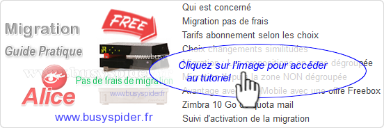 Guide de la migration Alice vers Free