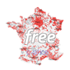 Carte du D�groupage Free