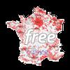 Carte du Dégroupage Free