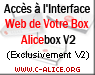 Acc�s � l'interface web de votre box